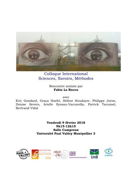 colloque savoirs methodes